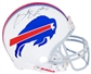 Brandon Spikes Autographed Buffalo Bills Authentic Full-Size Football Helmet