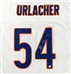 Brian Urlacher Autographed Chicago Bears White Jersey (GAI COA)
