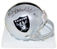 Cliff Branch Autographed Oakland Raiders Mini Helmet