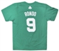 Rajon Rondo Boston Celtics Green Adidas T-Shirt (Size XXL)