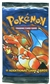 Pokemon Base Set 1 Black Triangle Error Booster Pack - CHARIZARD ART