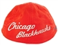 Chicago Blackhawks Reebok Red The Beginning Slouch Flex Fit Hat (Size S/M)