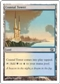 Magic the Gathering Invasion Single Coastal Tower Foil