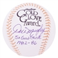 "Dale Murphy Autographed Atlanta Braves Official Major League Baseball w/""5X Gold Glove"" (JSA)"