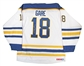 Danny Gare Autographed Buffalo Sabres Throwback White CCM Jersey