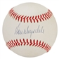 Don Drysdale Autographed Official National League Baseball (PSA)