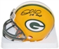 Desmond Howard Autographed Green Bay Packers Mini Helmet w/MVP Inscription