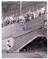 Don Newcombe Autographed Brooklyn Dodgers 16x20 Photo w/Dem Bums Inscription (Leaf)