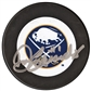 Don Edwards Autographed Buffalo Sabres Throwback Hockey Puck
