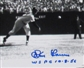 Don Larsen Autographed World Series Perfect Game '1st Pitch' 16x20 Photo