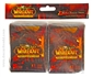World of Warcraft Deathwing Card Sleeves 80 Count Pack - Regular Price $8.99 !!!
