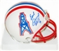 Earl Campbell Autographed Houston Oilers Mini Helmet