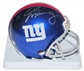Eli Manning Autographed New York Giants Mini Football Helmet (Mounted Memories)