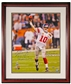 Eli Manning Autographed NY Giants Framed 16x20 Photo with SIX Inscriptions (Steiner)