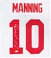Eli Manning Autographed New York Giants Football Jersey (JSA COA)