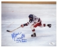 "Mike Eruzione Autographed 1980 USA Olympic Hockey ""Miracle On Ice"" 8x10 Photo (JSA)"