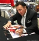 Tony Esposito Autographed Chicago Blackhawks 16x20 Hockey Photo (UDA)