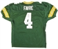 Brett Favre Autographed Green Bay Packers Green Authentic Jersey (Favre Holo)