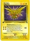 Pokemon Fossil FRENCH Single 1st Edition Zapdos 16/102