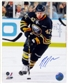 Nathan Gerbe Autographed Buffalo Sabres 8x10 Hockey Photo