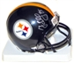 Greg Lloyd Autographed Pittsburgh Steelers Mini Helmet