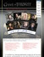 Game of Thrones Season One Trading Cards Pack (Rittenhouse 2012)