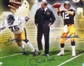 Pittsburgh Steelers Autographed & Framed 16x20 Photo Bradshaw, Greene, Noll