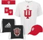 Indiana University Hoosiers Adidas Pick-Up Game 5-Piece Combo Pack (Size Large)