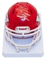 Jamaal Charles Autographed Kansas City Chiefs Speed Mini Helmet (JSA)