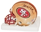 Jerry Rice Autographed San Francisco 49ers Limited Ed. Chrome Mini Helmet (Rice Hologram)
