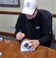 Jim Kelly Autographed Hall of Fame Mini Football Helmet