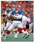 Jim Kelly Autographed Buffalo Bills Blue Jersey 16x20 Football Photo