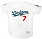 James Loney Autographed Los Angeles Dodgers White Jersey (UDA COA)
