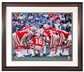Joe Montana Autographed San Francisco 49ers Framed 16x20 Photo w/Inscriptions (Steiner)