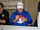 Joe DeLamielleure Autographed Buffalo Bills Throwback 65-73 Mini Football Helmet