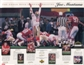 1995 Upper Deck Joe Montana Commemorative Sheet