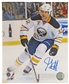 John Scott Autographed Buffalo Sabres 8x10 Hockey Photo