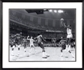 "Michael Jordan Autographed Framed 16x20 Basketball Photo ""UNC - 17 Seconds"""