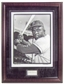 Jackie Robinson Framed Brooklyn Dodgers 16x20 Photo with Cut Auto (PSA COA)