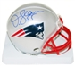 Junior Seau Autographed New England Patriots Mini Helmet