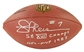Joe Theismann Autographed Washington Redskins Footballl with TWO Inscriptions (JSA)