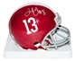 Julio Jones Autographed Alabama Crimson Tide Mini Helmet (JSA)