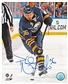 Patrick Kaleta Autographed Buffalo Sabres Shooting 8x10 Hockey Photo