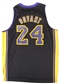 "Kobe Bryant Autographed ""Hollywood Nights"" Swingman Jersey #49/50 (Panini Authentics)"