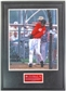 Ken Griffey Jr. Autographed & Framed Cincinnati Reds 16x20 Photo #/19 (UDA)