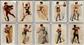 "1889 N196 Kimball ""Pretty Athletes"" Complete Set (VG/EX)"