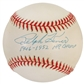 "Ralph Kiner Autographed Official MLB Baseball w/""1946-1952 HR Champ"" Inscription (PSA)"