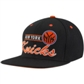 New York Knicks Adidas Black Grind Snapback Adjustable Hat (Size Adult OSFA)