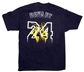 Kobe Bryant Los Angeles Lakers Black Adidas Smoke and Mirrors T-Shirt (Size Large)