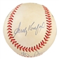 """Kings of the No Hitter"" Autographed Official MLB Baseball (Koufax, Ryan, & Feller) (PSA"
